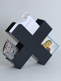 The Minimalist - The Minimalist Store / Bukan / Simple + stylish magazine holder in black