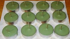 1 Dozen Rosemary  Sage Scented Soy Tealights ** Find out more about the great product at the image link.