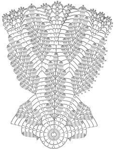 Вязание крючком салфетки со схемами | Вязание спицами и крючком – Азбука вязания