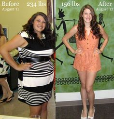 Girls Before & After Weight Loss - http://funphotomania.wordpress.com/2012/11/23/girls-before-after-weight-loss/