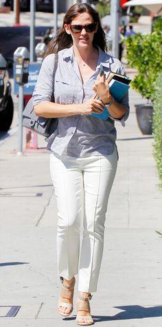 Jennifer Garner's Best Street Style Looks - September 10, 2014 from #InStyle