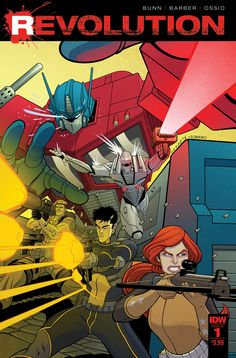 Revolution - Transformers, G. Joe, and ROM by Tradd Moore, colours by Felipe Sobreiro * Gi Joe, Comic Book Covers, Comic Books, Tradd Moore, Midtown Comics, Fox Kids, Morning Cartoon, Concorde, Comics Online