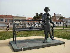 """Marina Tsvetaïeva, la """"Danseuse de l'âme"""", Saint-Gilles-Croix-de-Vie, Vendée"""