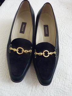 Vintage  designer Shoes  Bally Ladies shoes