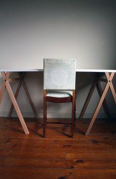 Trestle table - by Nikolai Sorensen