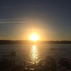 Nada se compara!! Amo esse Araguaia  #araguaia #aruana #sunset #temporadaaruana