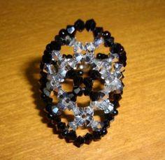 anel de cristais 3mm