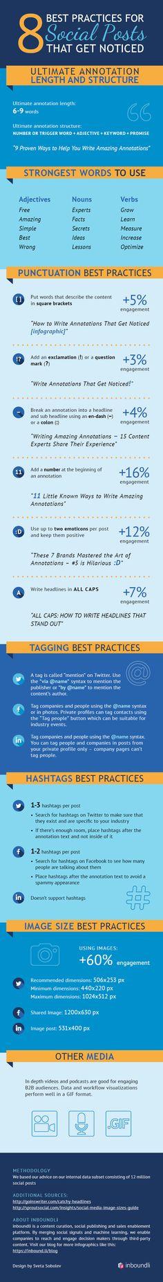 Welk onderschrift werkt het beste bij de foto? Welke woorden moet ik in mijn tekst zeker opnemen? In deze infographic vind je handige tips!