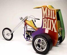 Ed - BIG daddy - Roth custom chopper Custom Trikes, Custom Choppers, Custom Motorcycles, Custom Cars, Triumph Motorcycles, Ducati, Mopar, Motocross, Lamborghini