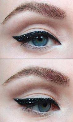 The Studded Cat Eye