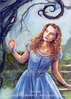Burton's Alice in Wonderland by AuroraWienhold.deviantart.com on @deviantART