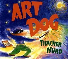 Art Dog. Books for the Art room.