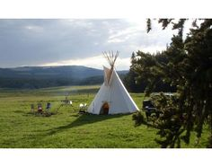 Inspired by the ancient Sioux shelters, the Tipi XL is an authentic, contemporary take on a centuries-old tradition. Measuring 16 feet in diameter, standing 15 Army Navy Store, Army & Navy, Hiking Tent, Sioux, Barre, Lodges, Vermont, Making Ideas, Homesteading