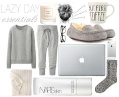 lazy day essentials(: