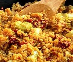 Skillet Quinoa with Sun-Dried Tomatoes, ( Also good recipe for- AdvoCare 24 Day Challenge, Cleanse Phase)