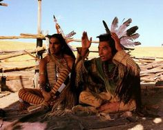 Rodney Grant & Graham Greene from Dances With Wolves