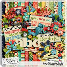Digital Scrapbook - Something Wonderful | Bella Gypsy Designs