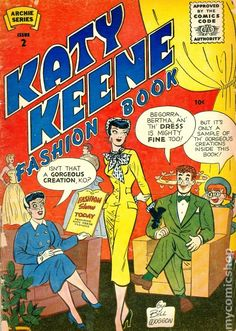 Image detail for -Katy Keene Fashion Book Magazine (1955) comic books* 1500 free paper dolls at Arielle Gabriels International Paper Doll Society also free paper dolls at The China Adventures of Arielle Gabriel *