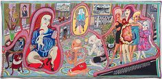View The Adoration of the Cage Fighters by Grayson Perry on artnet. Browse more artworks Grayson Perry from Victoria Miro Gallery. Grayson Perry Tapestry, Rose Wylie, Crafts To Do When Your Bored, Art Fund, Walker Art, Royal Academy Of Arts, Art Brut, Jesus Cristo, Aarhus