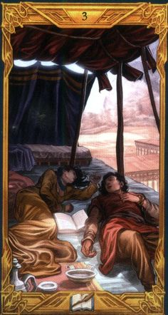 Gallery of Images from Epic Fantasy Tarot Card Deck.