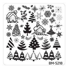 Holidays family friends nail art festive Occasions Collection stamping Xmas/New Years Eve winter snowmen Christmas trees ornaments stockings snowflakes sweater patterns reindeers Santas elves fireworks color polish stainless steel scraper Winter Nail Designs, Christmas Nail Designs, Nail Polish Designs, Cool Nail Designs, Christmas Nails, Christmas Themes, Nails Design, Nail Art Hacks, Nail Art Diy