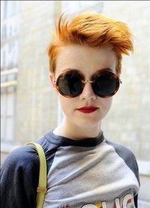 De hipste korte kapsels met superleuke kleuren!