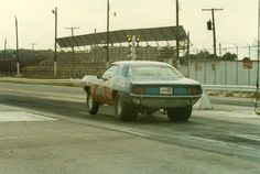 Green Valley Oct 82. Best Time 10.34 129 MPH