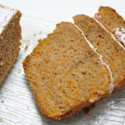 Cake carottes vanille cannelle muscade