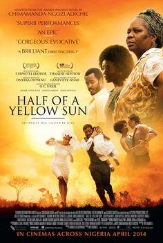 Half of a Yellow Sun  Language : English  Genre : Drama , Romance  Duration : 1h 51mn  Size : 1.72 GB  Quality : 480p BRRiP  Release Year : 2014  Submit By : Dm  Release NameNew : Half.of.a.Yellow.Sun.2013.480p.BRRip.XviD.AC3-EVO.avi  Description : Sisters Olanna and Kainene return home to 1960s Nigeria, where they soon diverge on different paths. As civil war breaks out, political events loom larger than their differences as they join the fight to establish an independent republic.