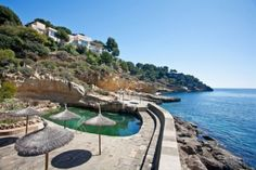 natural #pool by the sea - #Majorca viewofwater.com
