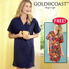 Publishers Clearing House Short Sleeve Dresses, Dresses With Sleeves, Lounge Wear, How To Wear, House, Women, Fashion, Moda, Sleeve Dresses