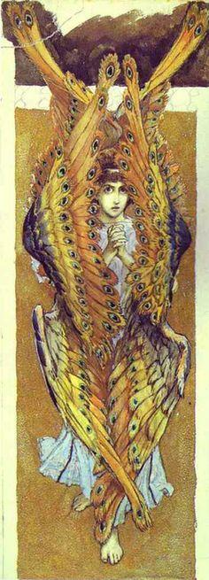 Victor Vasnetsov - Seraphim (1885-1896)