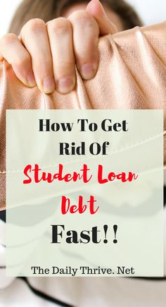 Student Loan Debt sucks. But it doesn't have to be such a nightmare. If you tackle it just right you can get it paid and you can move on with your life! lol