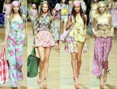 #Fiori e #rose, la tendenza #moda della primavera 2014