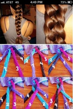 I can dutch, french, fishtail, and regular braid, I think I can figure out this one