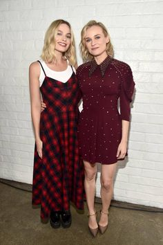 Margot Robbie and Diane Kruger attend 'Indie Contenders Roundtable' at AFI FEST 2017 Presented By Audi at Hollywood Roosevelt Hotel on November 12...