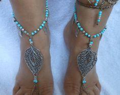 Crochet Barefoot Sandals Beach Wedding Yoga Shoes от MyKnitCroch