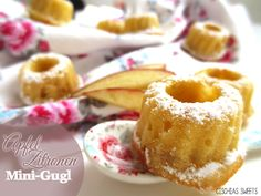 ♥ Apfel-Zitronen Mini-Gugl mit knackiger Überraschung