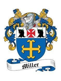 Miller family crest, France