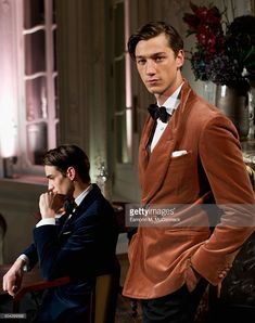 Models pose at the dunhill presentation during The London Collections Men AW16 on January 10, 2016 in London, England.