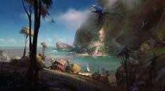 ArtStation - Azure Cove, Lane Brown