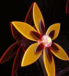 plexi virág