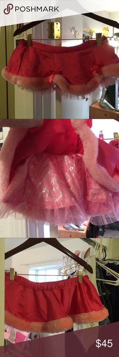 VS pink ruffled skirt/tutu Super cute skirt/tutu. Never worn  NWOT. Tag says OS but runs small. That's why it's never been worn Victoria's Secret Other
