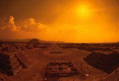 Teotihuacán en México.