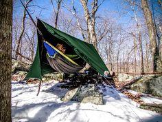 10 Tips for Winter Hammock Camping