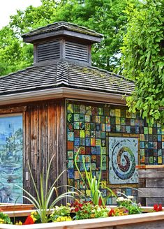 Garden Shed Photograph by Maria Keady