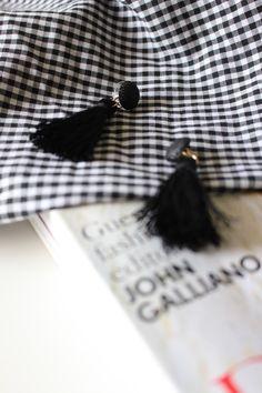 Tassel Earrings.