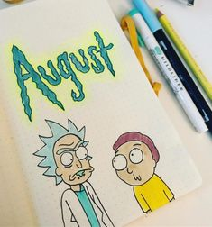 To make the wait less excruciating, here are 22 awesome Rick and Morty bullet journal spreads to hold you over until the Ricktastic season 4 premiere. Bullet Journal June, Bullet Journal School, Bullet Journal Spread, Bullet Journal Ideas Pages, Bullet Journal Inspiration, Journal Art, Bullet Journals, Diy Painting, Painting & Drawing