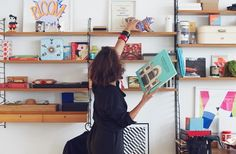 A mind full of filthy ideas and creative brilliance: we visit Malika Favre
