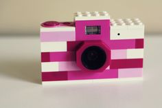 How cute is this Lego camera?